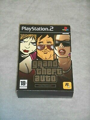 Grand Theft Auto The Trilogy Special Edition Playstation 2 PS2 CIB VGC PAL GTA