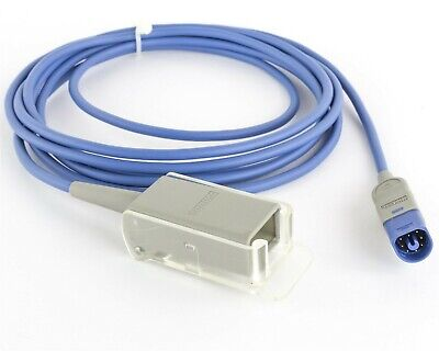 Philips M1943AL SpO2 10' Extension Adapter Patient Cable DB9 to D Connect New