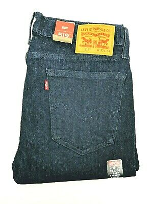 Levis 519 Mens Jeans Extreme Skinny Size W33 L34 Denim Pants Levi's and Strauss