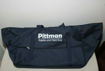 Pre-Owned Pittman Palette And Field Bag For Art Supplies Storage - Vguc