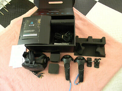 HTC Vive Virtual Reality VR System Complete