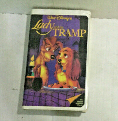 Lady and the Tramp VHS Classic Black Diamond Edition Digitally Processed Hi-Fi