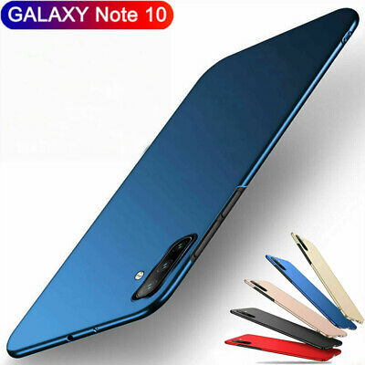 Ultra Slim Matte Hard Back PC Protect Cover Case For Samsung Galaxy Note 10 Plus