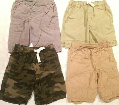 Lot Of 4 Pairs Of Shorts For Boys Toddlers Kids Children SIZE 4 and 5