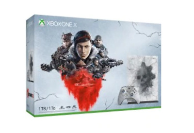 Xbox One X 1 TB Console – Gears 5 Limited Edition Bundle