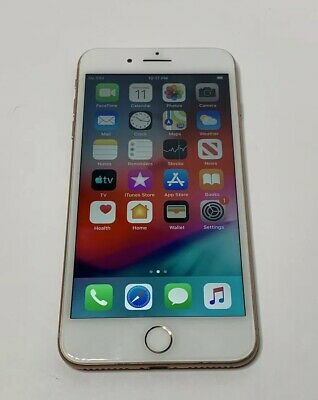Apple iPhone 8 + Plus Gold Bad ESN 64gb Bad Parts Only A1897 MQ8V2LL/A 8+ Screen