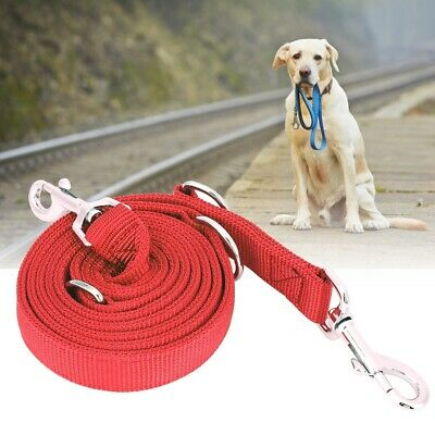 2M High Quality Dog Leash Walking Leashes Double Buckle Training Lead Rope