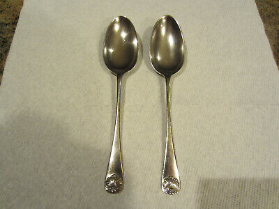"""6 5//8/"""" 47g Kirk//Stieff Rose Sterling Silver Place//Oval Soup Spoon No Mono"""