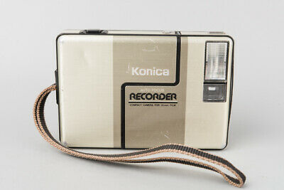 Konica Recorder Auto Focus Compact Point & Shoot 35mm Film Camera w/ 24mm f/4