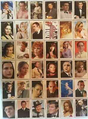 James Bond 2009 Archives Base Card Set 66 Cards