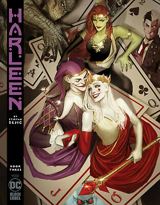 Harleen #3 (Of 3) Sejic Variant Dc Comics Black Label Joker Harley Quinn Batman