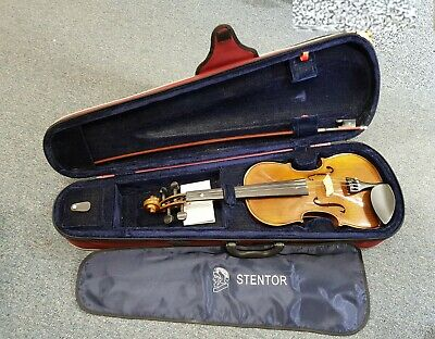Stentor Student II Violin 4/4 with Hard Carry Case model 1500 #554
