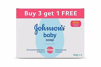 Johnson's Baby Soap 150g (Buy 3 Get 1 Free) | Free Shipping