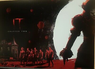 2 X IT CHAPTER TWO - EXCLUSIVE ODEON POSTER (2019) Part 1 of 2 - Steven King