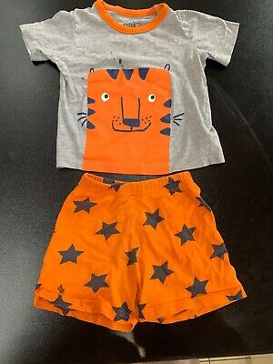 Mothercare, Baby Boy Pyjames, Age 18 - 24 Months, Tiger Design