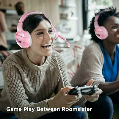 K5 3.5mm Gaming Headset for PS4 Xbox One PC with Noise Cancelling Mic Headphone