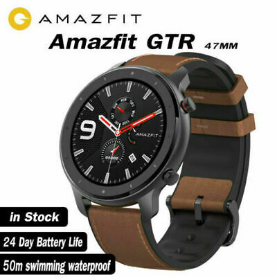 """Xiaomi AMAZFIT GTR 47mm Smart Watches 1.39"""" AMOLED Screen GPS Heart Rate Monitor"""