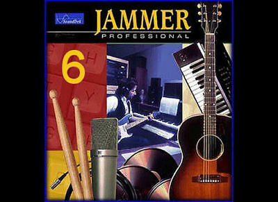 SoundTrek JAMMER Pro 6 a Better Band-in-a-Box Music Composing Arranging WINDOWS