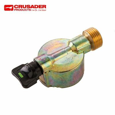 21mm Clip On Gas Adaptor to Butane Pigtail 109 Male Outlet Type 511