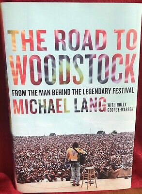 The Road To Woodstock, Michael Lang Autograph Book (In-Person) with photos