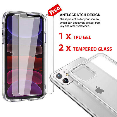 New Gorilla Tempered Glass Screen Protector For New Apple iPhone 11 PRO MAX 2019