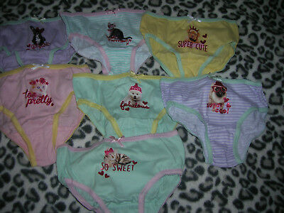 7 Briefs for Girl 1,5-2 years
