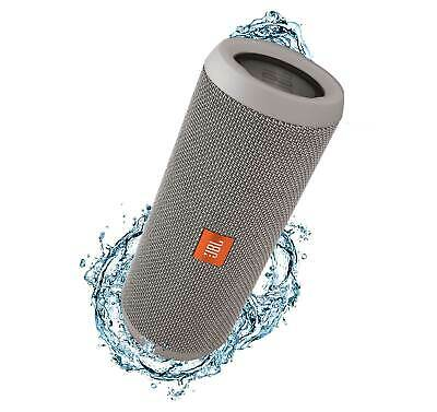 JBL Flip 3 Gray  Open Box  Splashproof Bluetooth Speaker
