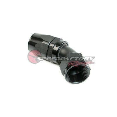 Speedfactory -16An 45 Degree Black Hose End