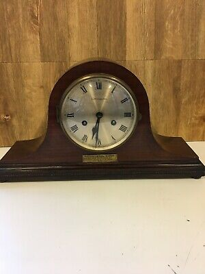 Vintage 1930s Wind up Mantel Clock by WM Greenwood & Sons Napoleon Style