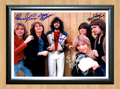 Heart Band Ann Nancy Wilson Signed Autographed A4 Photo Poster Memorabilia dvd