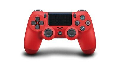 New Genuine Official Sony DualShock 4 V2 Playstation 4 PS4 Controller 2017 Red