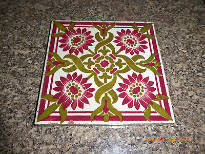 A  FIREPLACE ART  TILE  BY  william godwin ?
