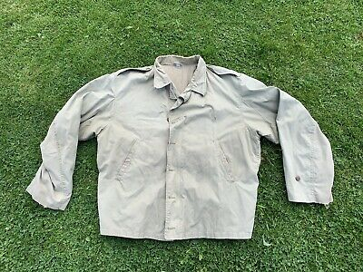 Well Used Vintage Repro US Army M41 Jacket Large Made For D-Day 50th 1994 USGI