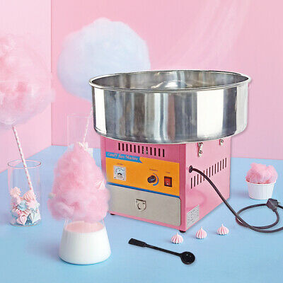 Electric Cotton Candy Machine Sugar Fairy Floss Maker Commercial Party Carnival