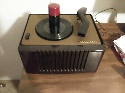 Vintage RCA Victor 45-EY-2 45 RPM Record Player Great Condition, Tested & Works!