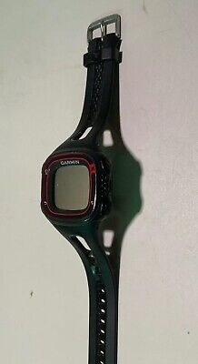 Garmin Forerunner 10 GPS Running Sport Watch Charger Black Red