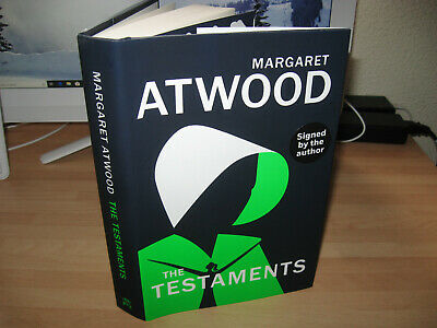 Margaret Atwood The Testaments Signed 1st Booker Prize Handmaids Tale sequel 99p