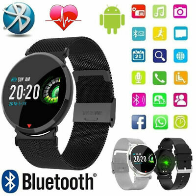 E28 Smart Watch Fitness Tracker Fitbit Heart Rate Waterproof For Samsung iphone