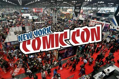 NYCC 2019 Badges for Sunday 10/6!