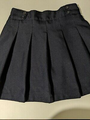 Girls Navy Blue IZOD Skort School Uniform Size 14