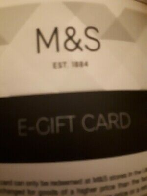 £32 M&S gift Card