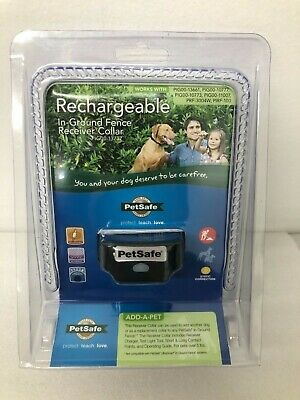 BRAND NEW PetSafe Rechargeable In-Ground Dog Fence Receiver Collar PIG00-13737