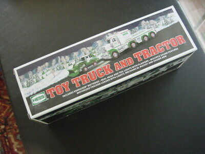 Hess Toy Truck And Tractor 2013 Nib