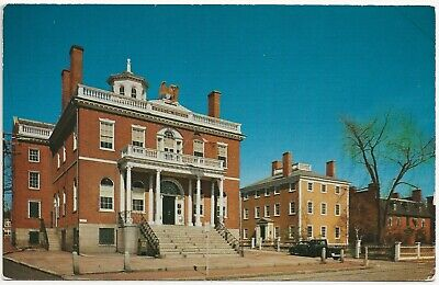 Custom House Salem Mass. 1950s by Koppel Color Cards - Photo Walter H. Miller