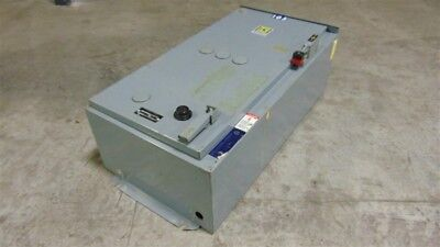 USED Square D 8538 SCA24S8 Combination Starter Size 1 10HP