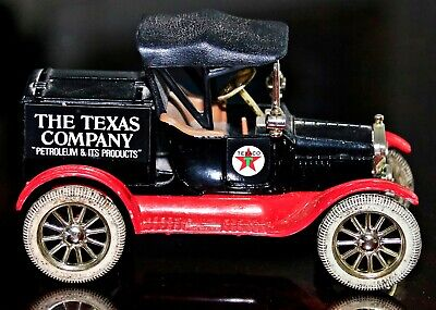 Replica Metal 1918 Ford T Truck Runabout The Texas Company Petroleum Coin Bank