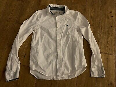 H&M!! Boys White, Formal Casual Shirt, Size 9-10 Years, Worn Once!! 100% Cotton