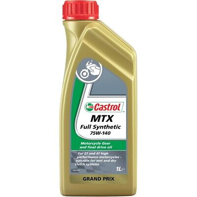Castrol MTX Fully Synthetic 75W140 Getriebeöl Transmission Oil 1 Liter Flasche