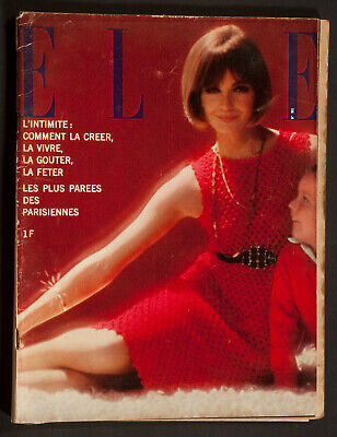 'Elle' French Vintage Magazine Christmas Issue 17 December 1964