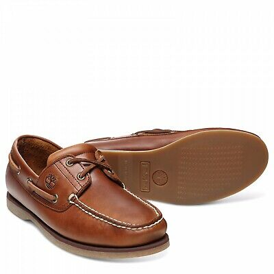 Timberland Classic 2 Eye Brown Boat/Deck Shoes A232X RRP £129.99